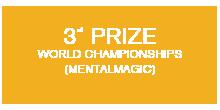 Award Winner bei den FISM Weltmeisterschaften der Zauberkunst